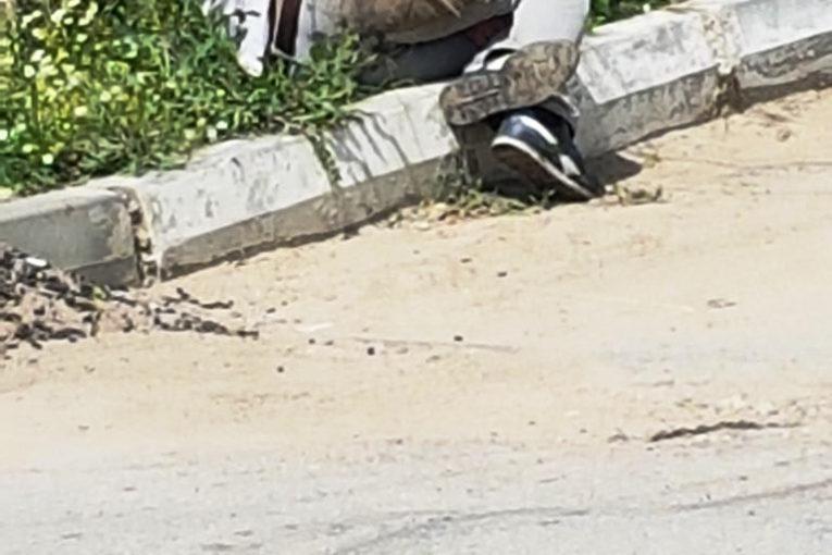 Tanar 'obosit' strada Orhei (1)