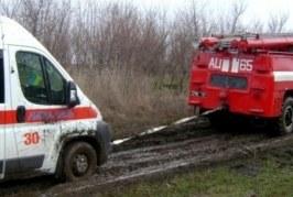 Săptămâna trecută salvatorii din Orhei au scos o ambulanță blocată în glod și au avut mai multe intervenții
