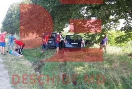 Accident în lanț la Orhei. Patru automobile implicate, doi oameni spitalizați