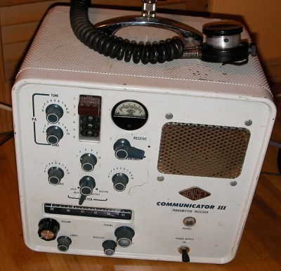 Are Old Tube Radios Still a Viable Option? The Gonset Communicator.
