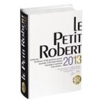 Le Petit Robert 2013