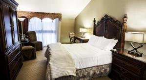L'une des chambres où nous  avons séjourné lors de notre passage à Niagara Falls.