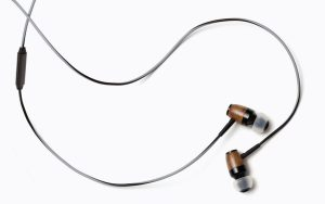 Écouteurs intra-auriculaires DRM (gris et noir) de Symphonized