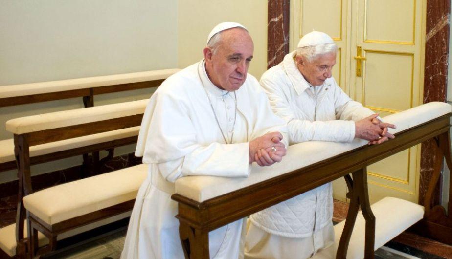 Bergoglio-Ratzinger1