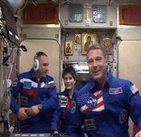 Samantha Cristoforetti è nella Stazione spaziale
