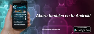 Aplicacion de Radio Turquesa Android