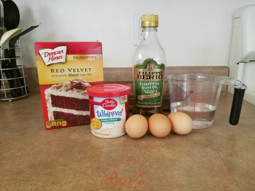 ingredients cake pops