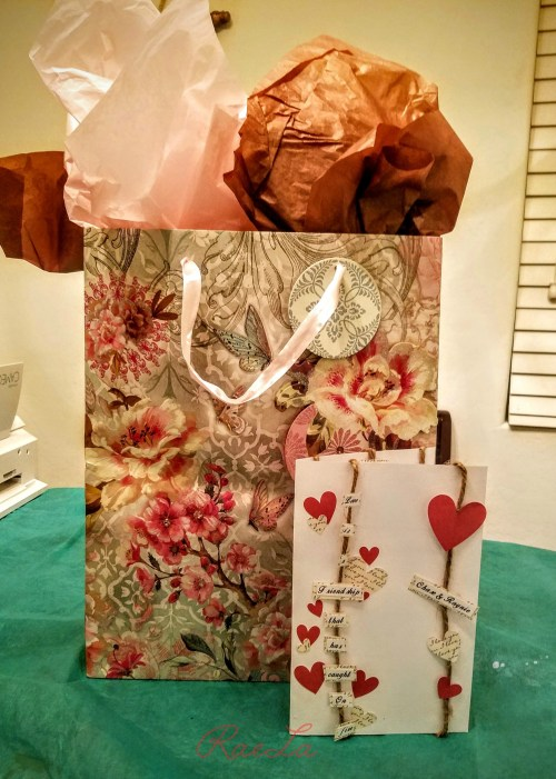 Wedding gift and card