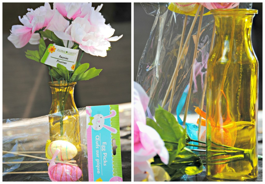 DIY Dollar Store Easter Vase