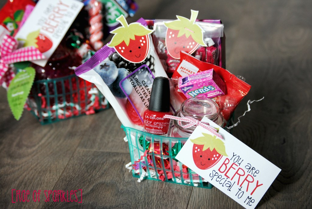 You are Berry special to me - Strawberry Basket of Appreciation