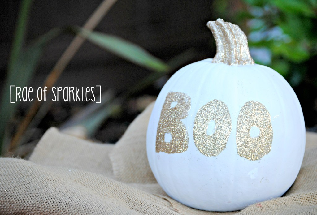 painted-and-glitter-pumpkins