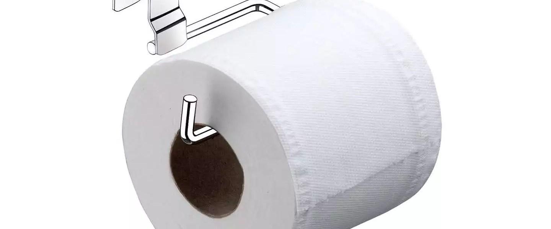 Qual é a posição correta do papel higiênico?