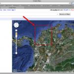 Barranquilla no aparece en primer plano de Colombia en google maps