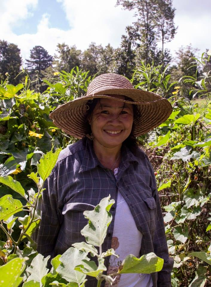 Tri Sa of Transplanting Traditions Community Farm.