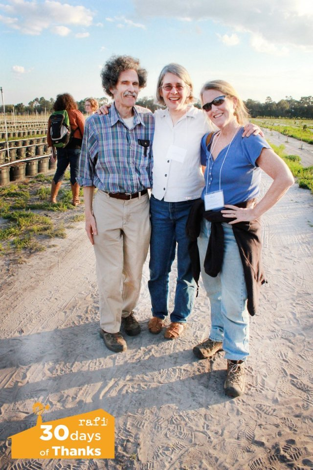 Mark Schonbeck, left, at a workshop with the National Sustainable Agriculture Coalition. Photo courtesy of NSAC.