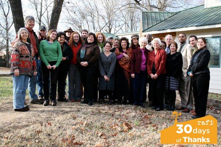 RAFI board and staff in 2011.