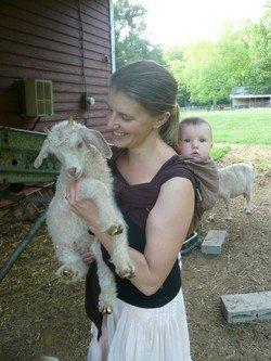 Suzanne Nelson of Saxapahaw Village Farm in North Carolina.