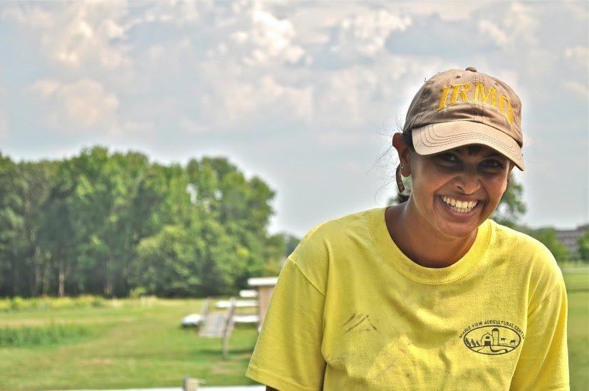 Kavita Koppa, RAFI's Farmer-Veteran Network Coordinator.