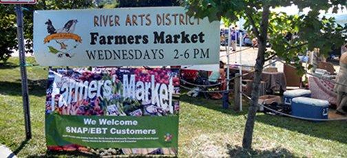 RAD Market Sign banner