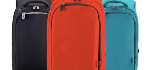 벨킨 뉴 심플 백팩은 세 가지 색이다.