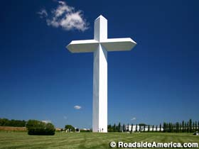 One of the giant 1.1 Million dollar crosses that have been built across the country by Cross Ministries