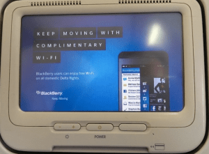 GoGo In-Flight Wifi For BlackBerry Hack on Delta Airlines (User Agent Hack)