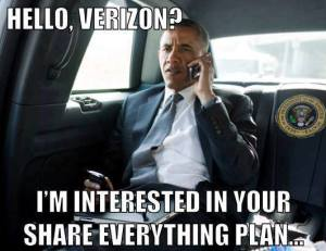 Verizon Obama Meme
