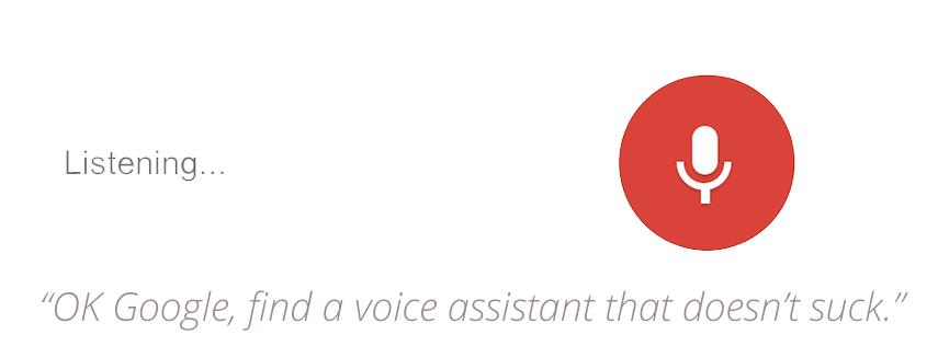 AI Voice Assistant Technology Still Sucks