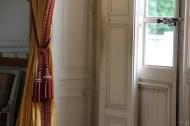 Grand Trianon, Chambre de la Reine des Belges, détail du passement et du gland des rideaux