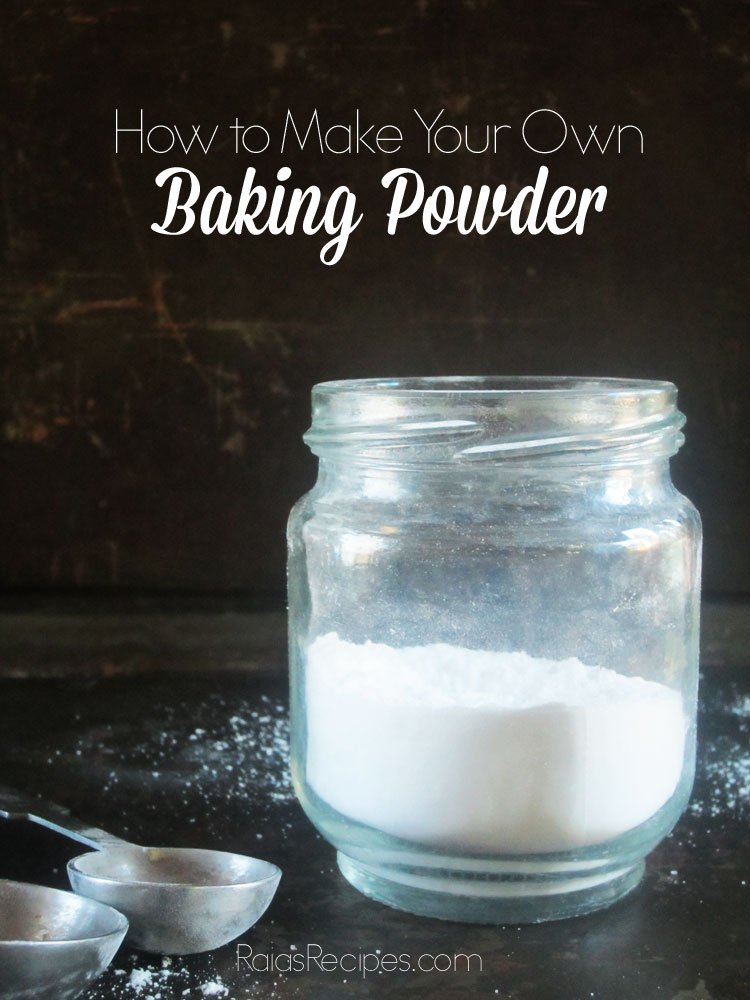 How to Make Your Own Baking Powder | RaiasRecipes.com