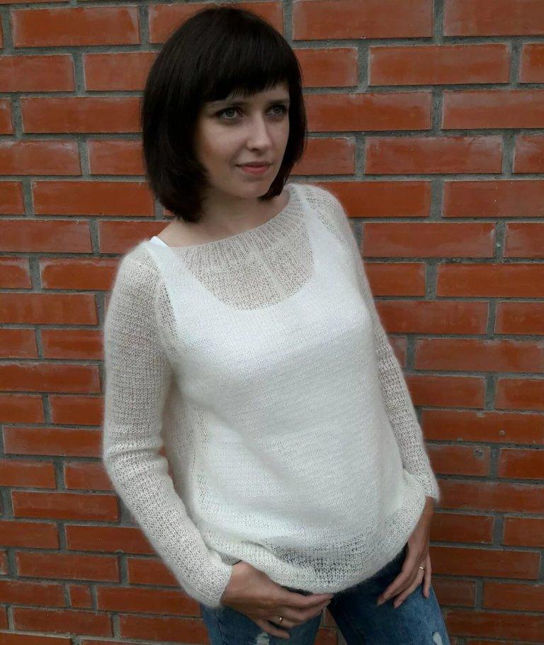 женские свитера из мохера