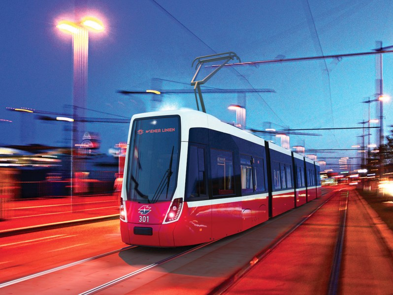 [AT] Bombardier and Wienerlinien present the final design of the Flexity tram for Vienna