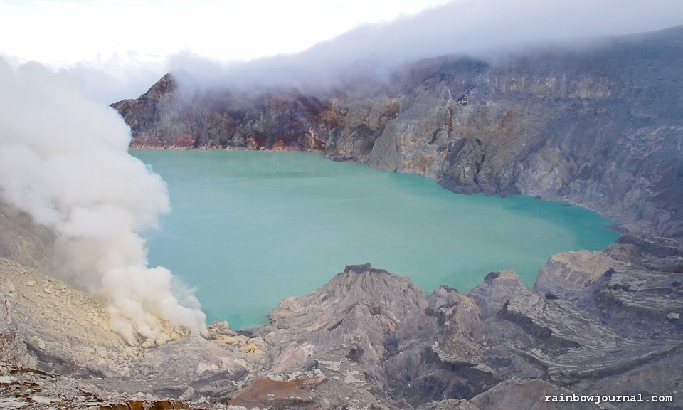 Kawah Ijen in Indonesia