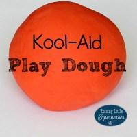 How To Make Gluten-Free Kool-Aid Play Dough
