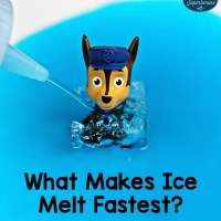 What Makes Ice Melt Fastest? Science Experiment