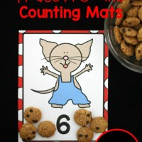 If You Give A Mouse A Cookie Inspired Counting Mats