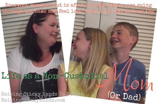 Life As A Non-Custodial Mom