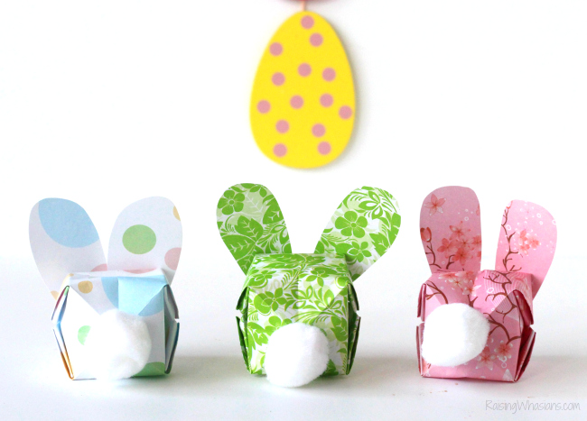 easy easter origami instructions