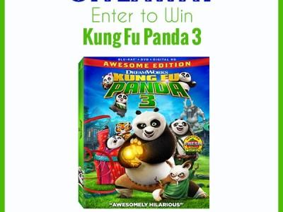 Kung fu panda 3 giveaway