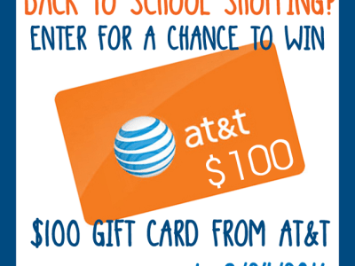 AT&T back-to-school giveaway