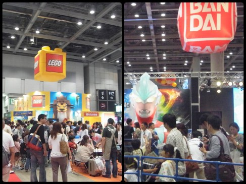 The 2013 Tokyo Toy Convention at Big Sight