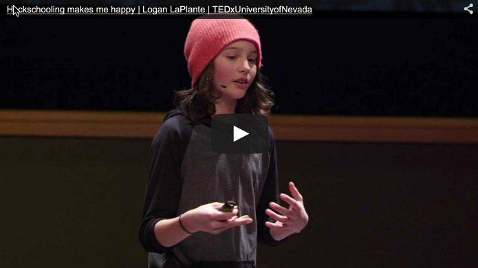 Hackschooling TED Talk