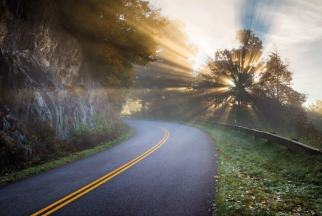 Morning on the Blue Ridge Parkway
