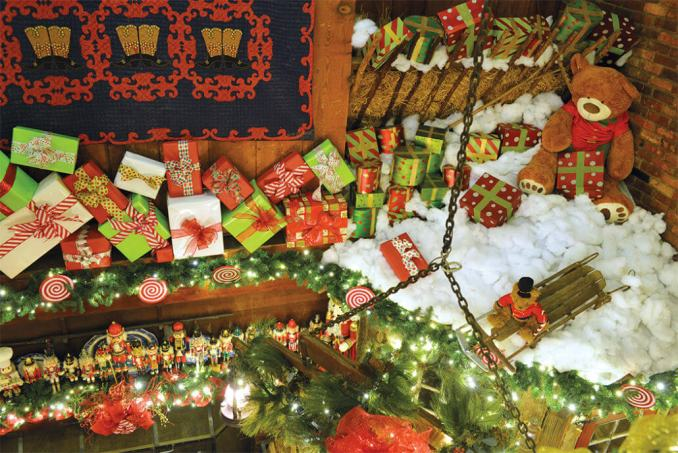 Angus Barn Christmas