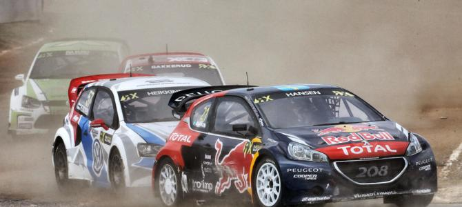Peugeot backs all-electric rallycross series