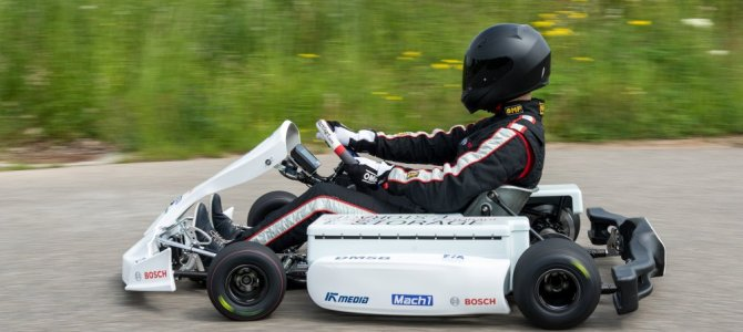 Is this the new electric kart for FIA eKarting Cup?