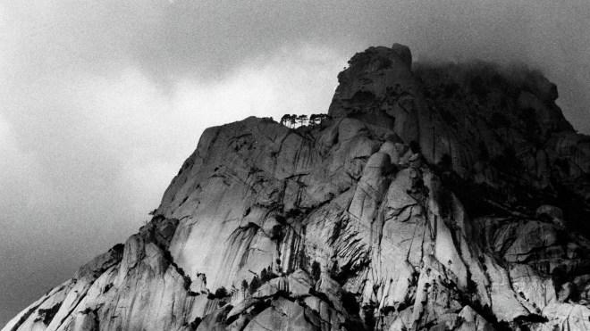 In den Bergen nahe Corte/Korsika 1990