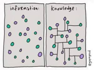 information vs knowledge