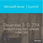 Microsoft Azure Summit 2014