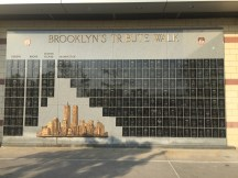Brooklyn Tribute Wall